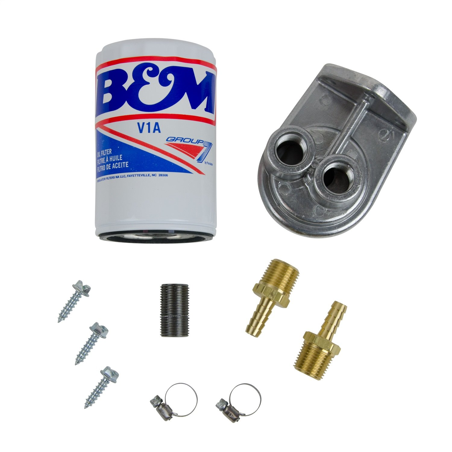 B&M 80277 Universal Remote Transmission Filter Kit by B&M