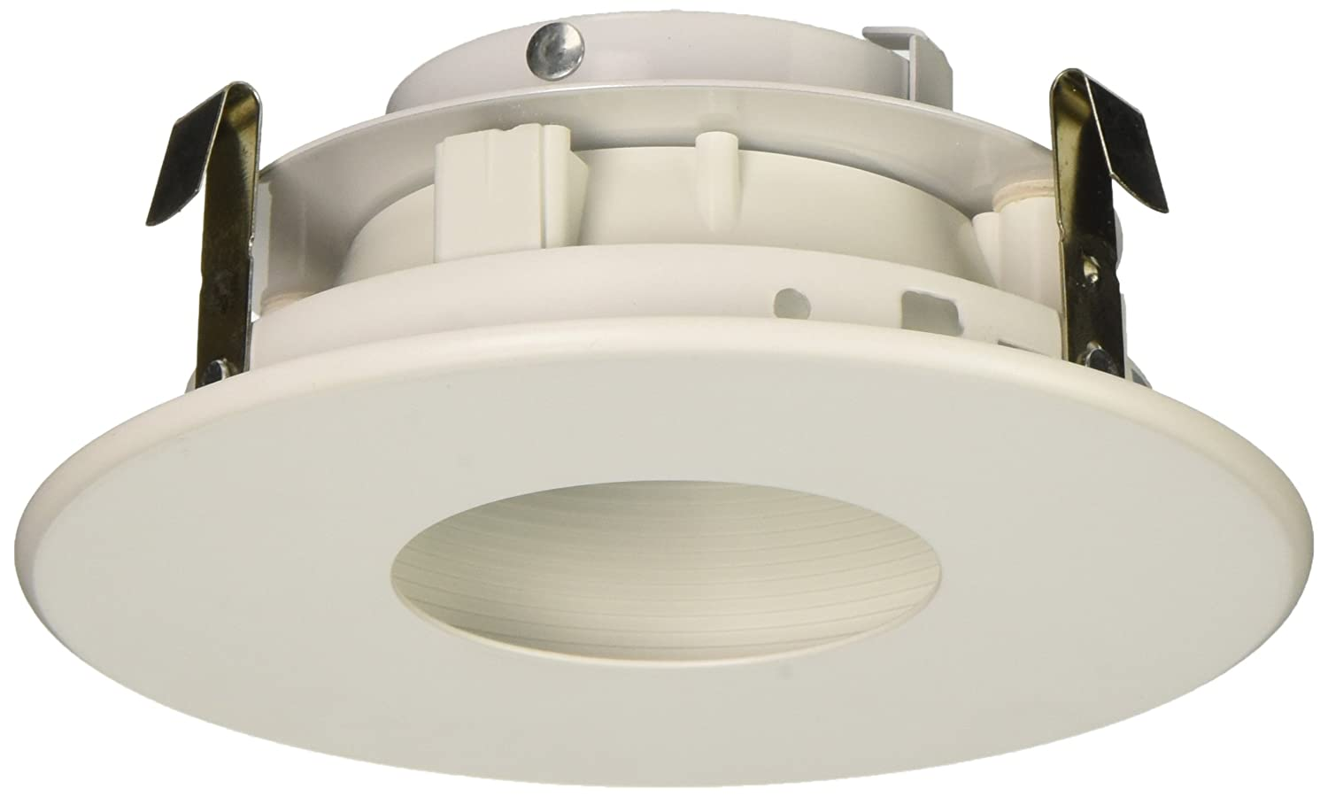 elco lighting el1423w 4 low voltage adjustable pinhole with baffle