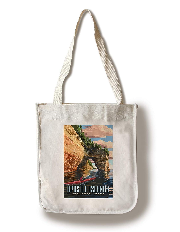 専門店では アポストルアイランド国立レイクスホール、ウィスコンシン州 - Tote カヤカー Canvas Bag Tote Bag Canvas LANT-88210-TT B07GGZWLFN Canvas Tote Bag, ヘアケア専門店 レフィーネ:56c5425d --- arianechie.dominiotemporario.com