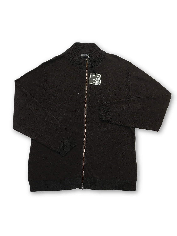 Agave Lux Andorra Knitwear in Braun Größe M Cotton