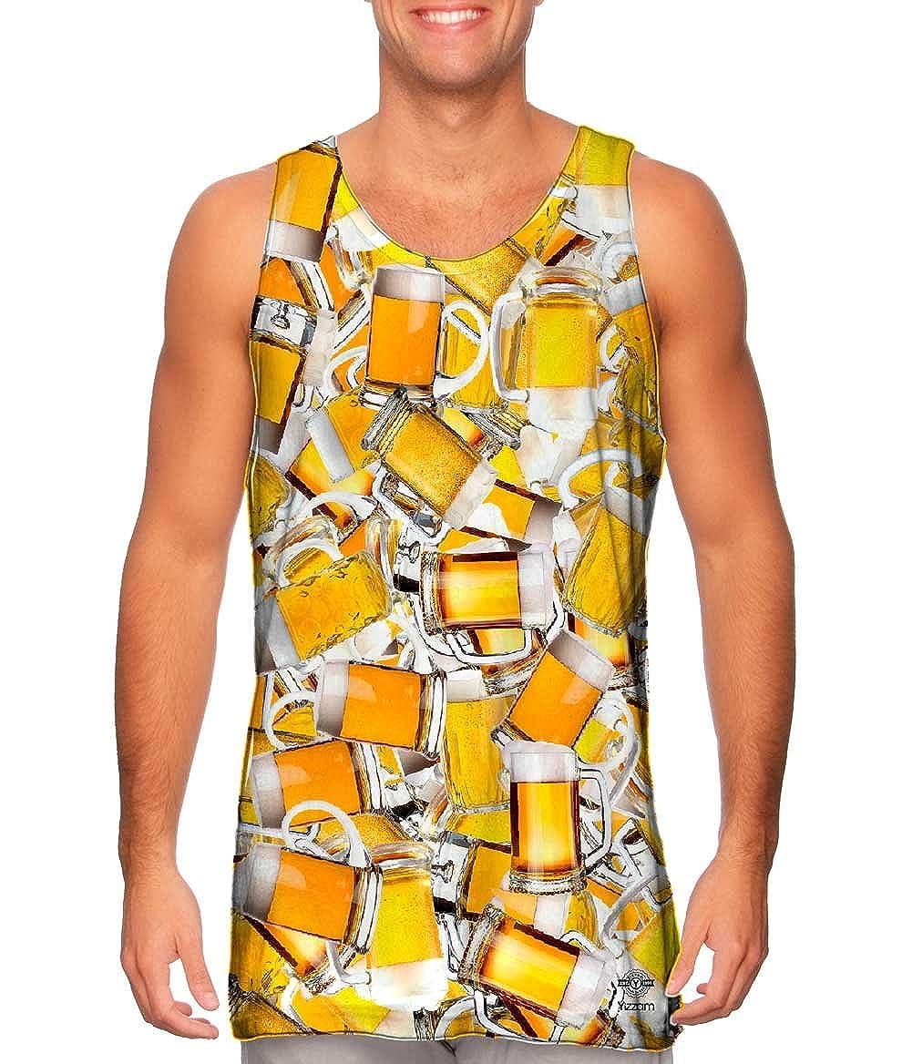Tshirt Yizzam Mens Tank Top Beer Pubs All Night Jumbo