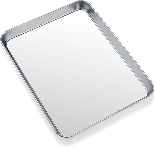 Amazon.com: Zacfton - Juego de 4 bandejas de horno de acero ...