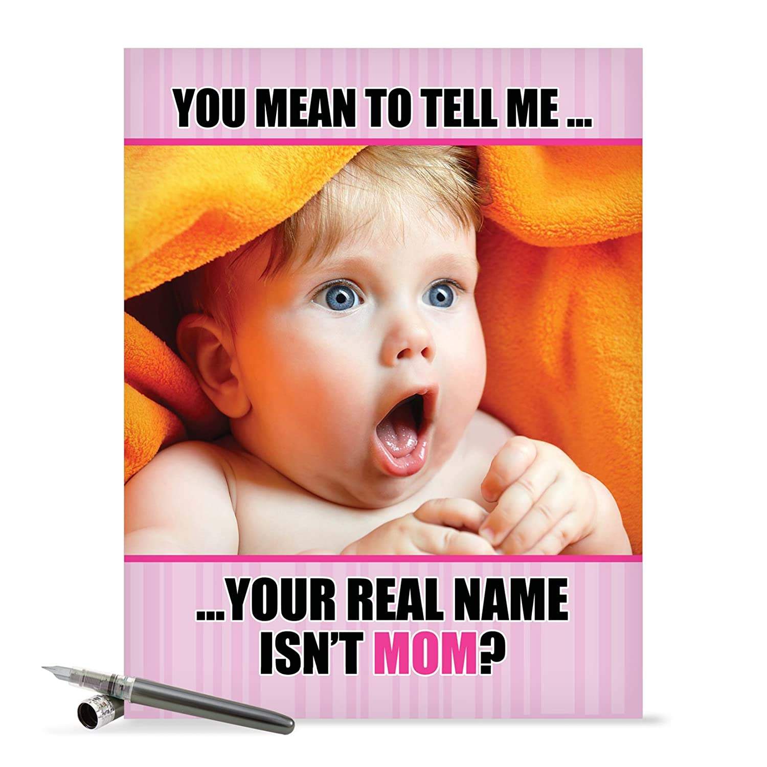 Real Name Isn't Mom With Envelope