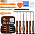 Vastar 16Pcs Triwing Screwdriver Set for Nintendo - Full Professional Screwdriver Game Bit Repair Tool Kit with S2 Steel for Nintendo Switch/New 3DS/2DS XL/NES/SNES Classic (2017)/Nintendo Wii/NDS/NDS