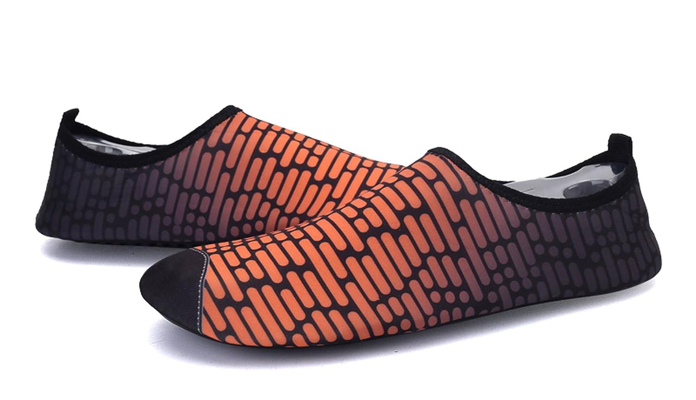 Water Park Beach Walking Yoga Demetory Unisex Quick-Dry Water Shoes Lightweight Aqua Socks for Swim