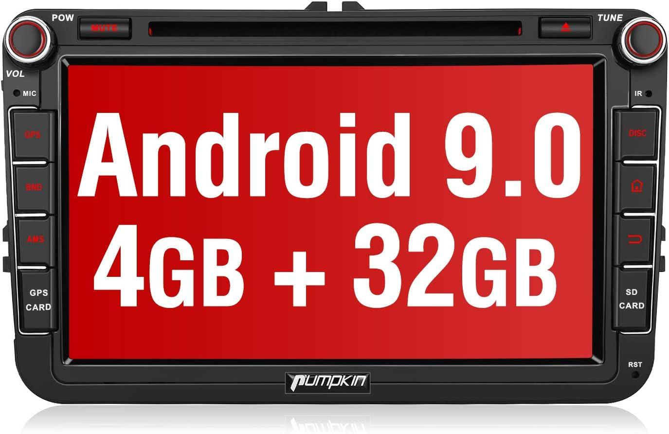 Pumpkin Car Radio Android 9 0 Gps Navigation Device For Elektronik