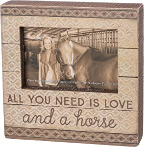Primitives by Kathy Wood Box Frame All You Need Is Love and A Horse 8