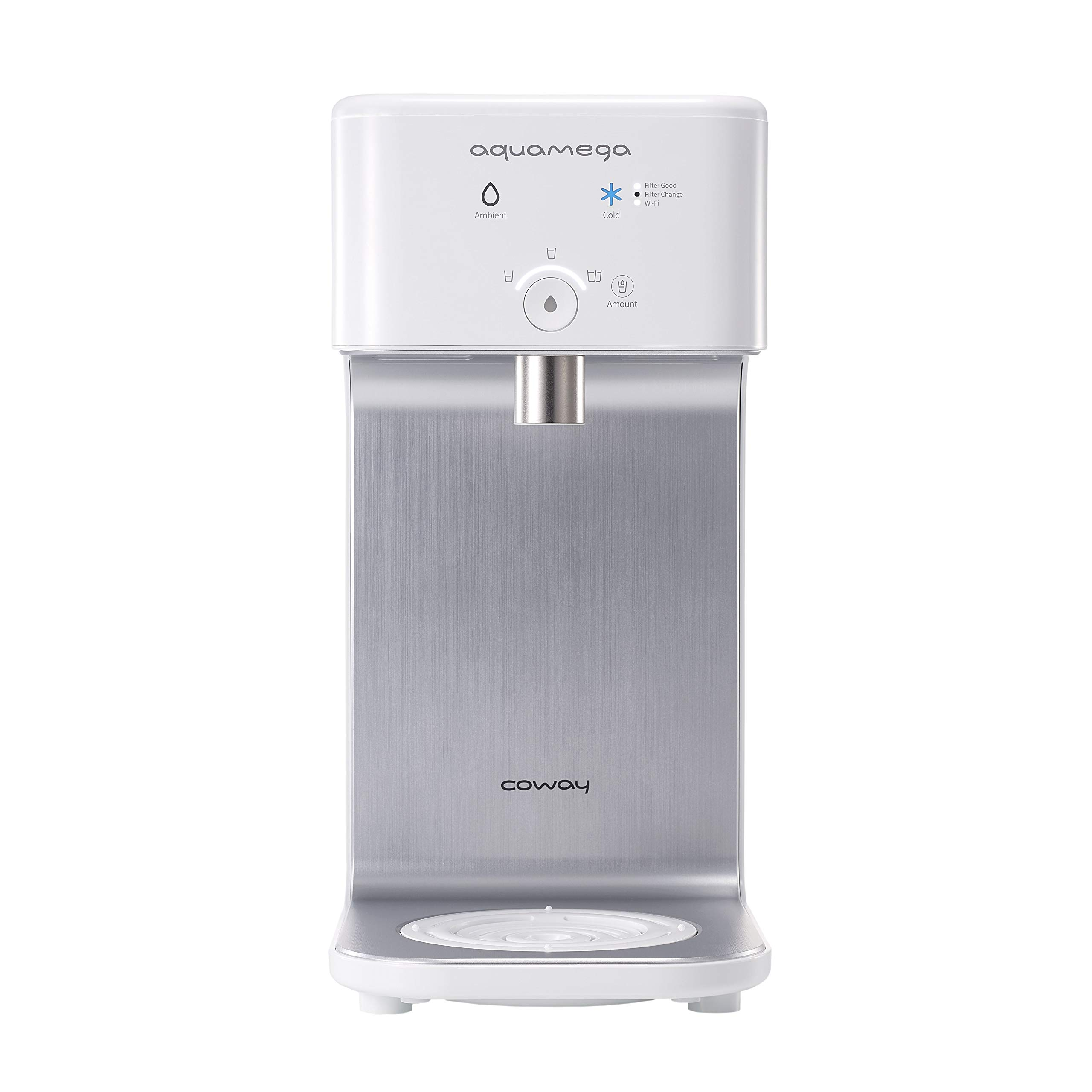 Coway Aquamega 200C Smart Cold Water Purifier, 7.1 x 16.5 x 14.7, White by Coway