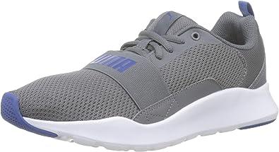 PUMA Wired Jr , Zapatillas de Running Unisex Niños , Gris (CASTLEROCK-Galaxy Blue)  , 38.5 EU: Amazon.es: Zapatos y complementos