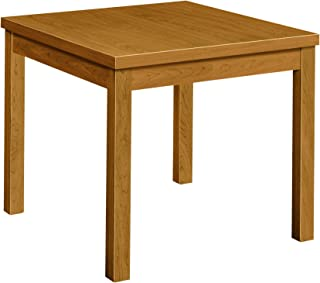 product image for HON Laminated Corner Table, 24 by 24 by 20-Inch, Harvest