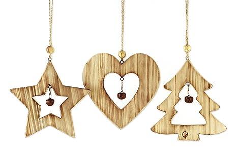 Hänger Herz Ornament NEU Hängedeko Fensterdeko Christbaumschmuck Weihnachtsdeko