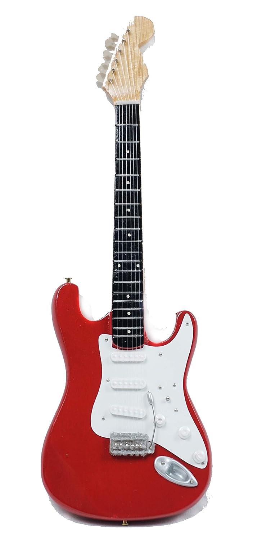 Guitare miniature Fender Stratocaster 24 cm Rouge #186