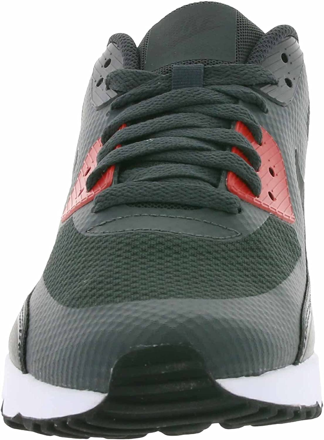 Nike AIR MAX 90 Ultra 2.0 Essential Mens Running Shoes 875695 007_8.5 AnthraciteBlack University RED White