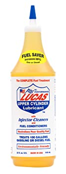 Lucas 32 oz. Cylinder Lubrication & Fuel Injector Cleaner