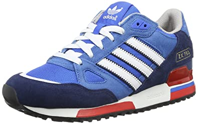 adidas Originals ZX750, Low-top homme - Bleu (BLUBIR/RUNWH),