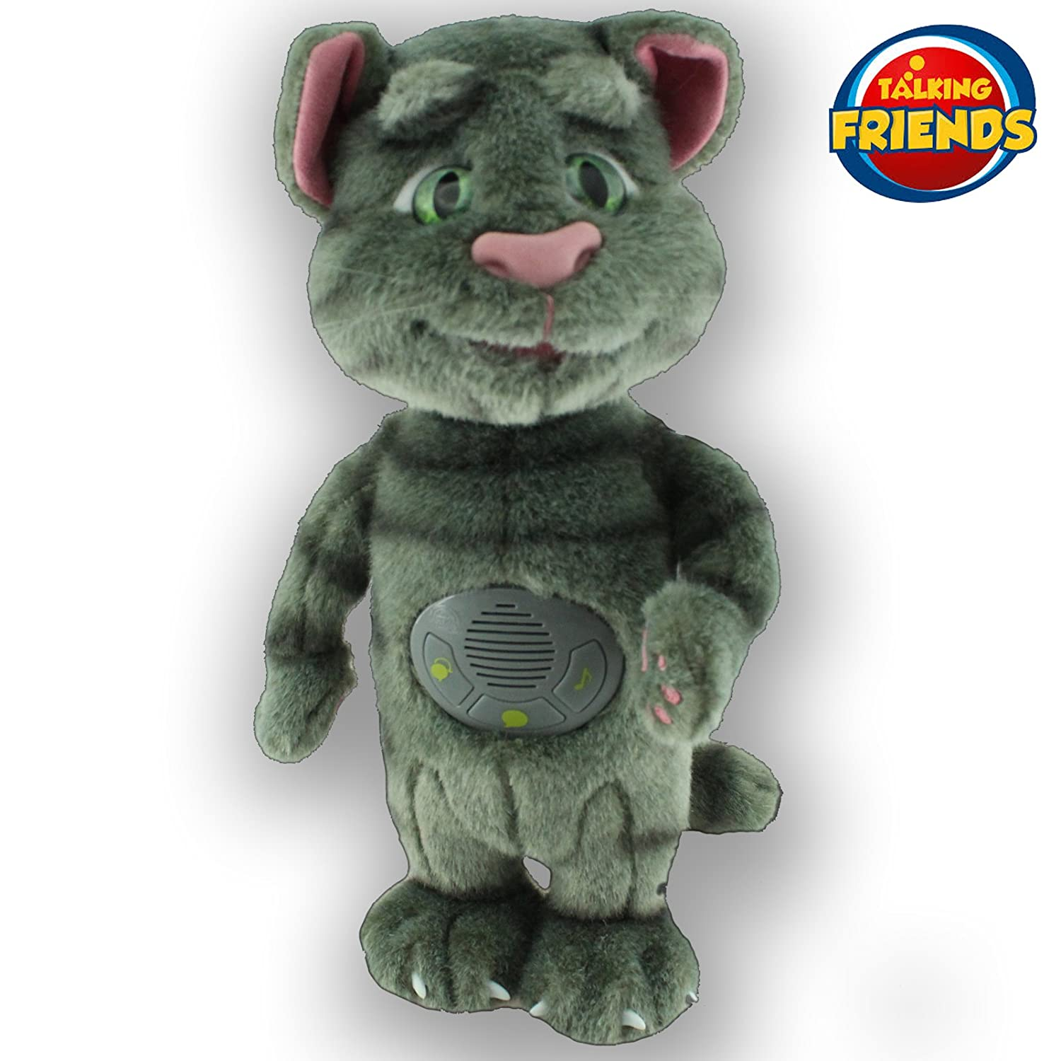 TALKING TOM AND FRIENDS, Talking Friends Toy de Peluche con increíbles Efectos de Sonido, Licencia Completa, 5292522136724.: Amazon.es: Juguetes y juegos
