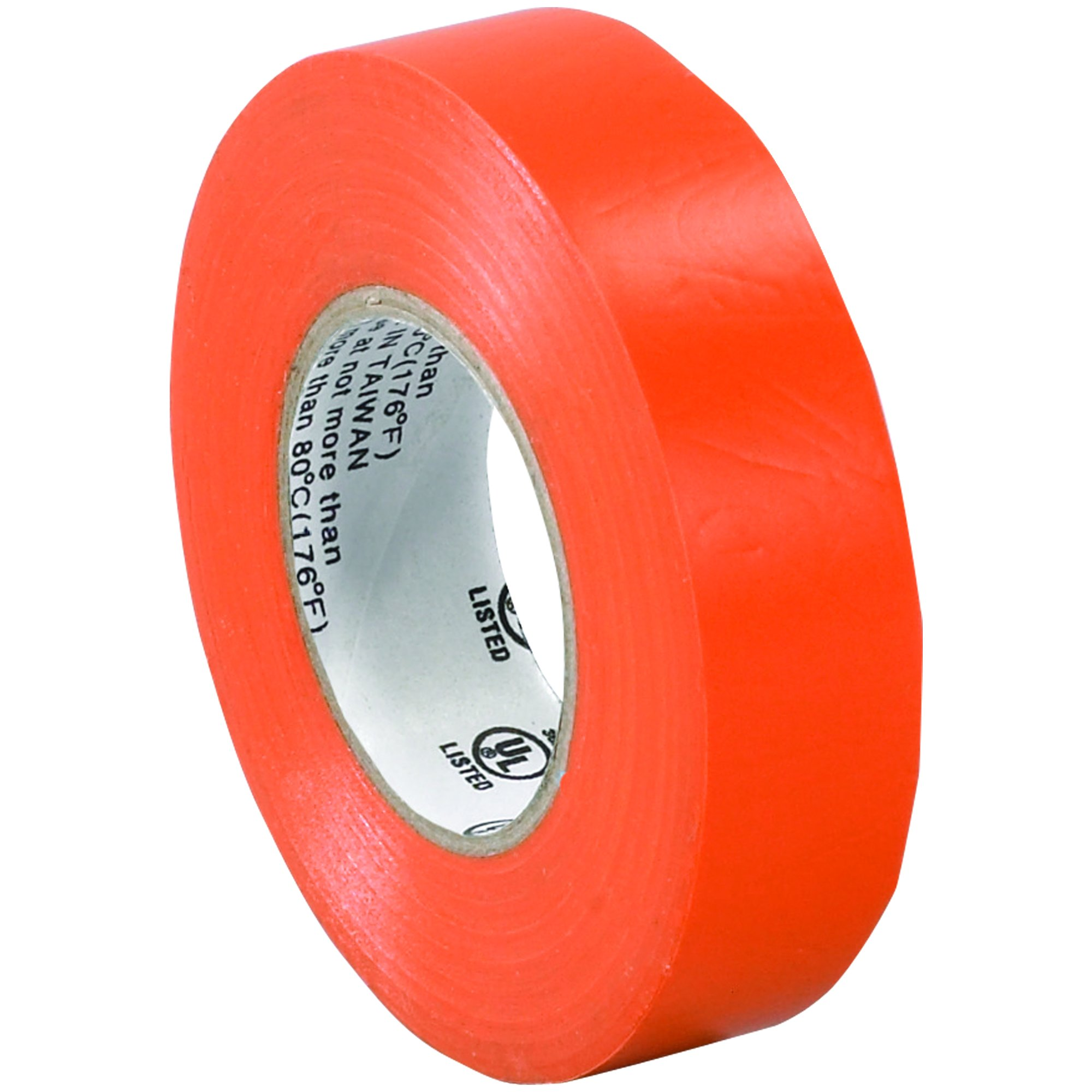 BOX BT96461810PKA Orange Electrical Tape, 20 yd. Length, 3/4'' (Pack of 10)