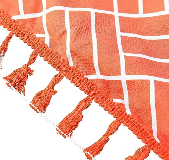 LtrottedJ Hot Rainbow Beach Mat Mandala Blanket Wall Hanging Tapestry Stripe Towel Yoga