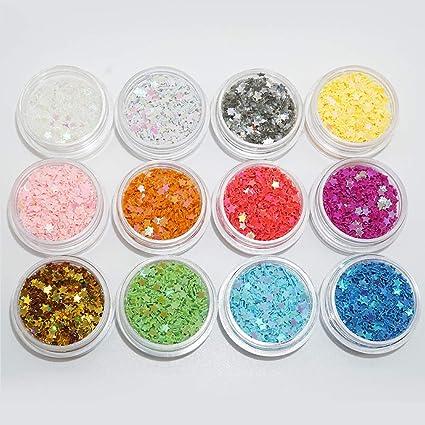 Amazon Sequins Makeup Body Stars Glitters Nail Art Supplies