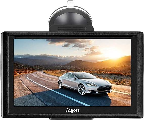2020 Navigation Für Auto Aigoss 7 Zoll Touchscreen 8gb Lkw Pkw Kfz Gps Navi Navigationsgerät Mit Bluetooth Poi Sprachführung Fahrspurassistent Lebenszeit Kostenlose Kartenupdates Navigation