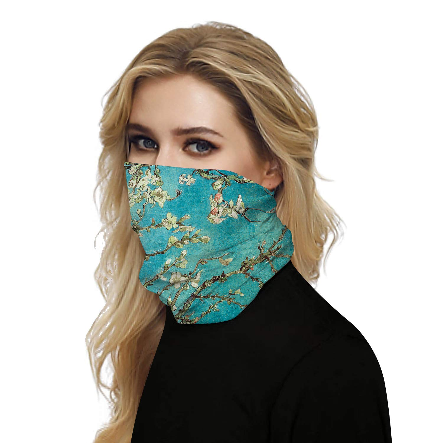 Bandana Face Mask for Men and Women Neck Gaiter Headwear Scarf Dust Wind Sun Protection Seamless Tube Mask