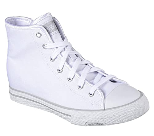 Jet Set Womens High Top Sneakers White