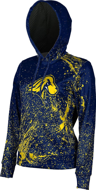 School Spirit Sweatshirt Splatter ProSphere Pace University Girls Pullover Hoodie