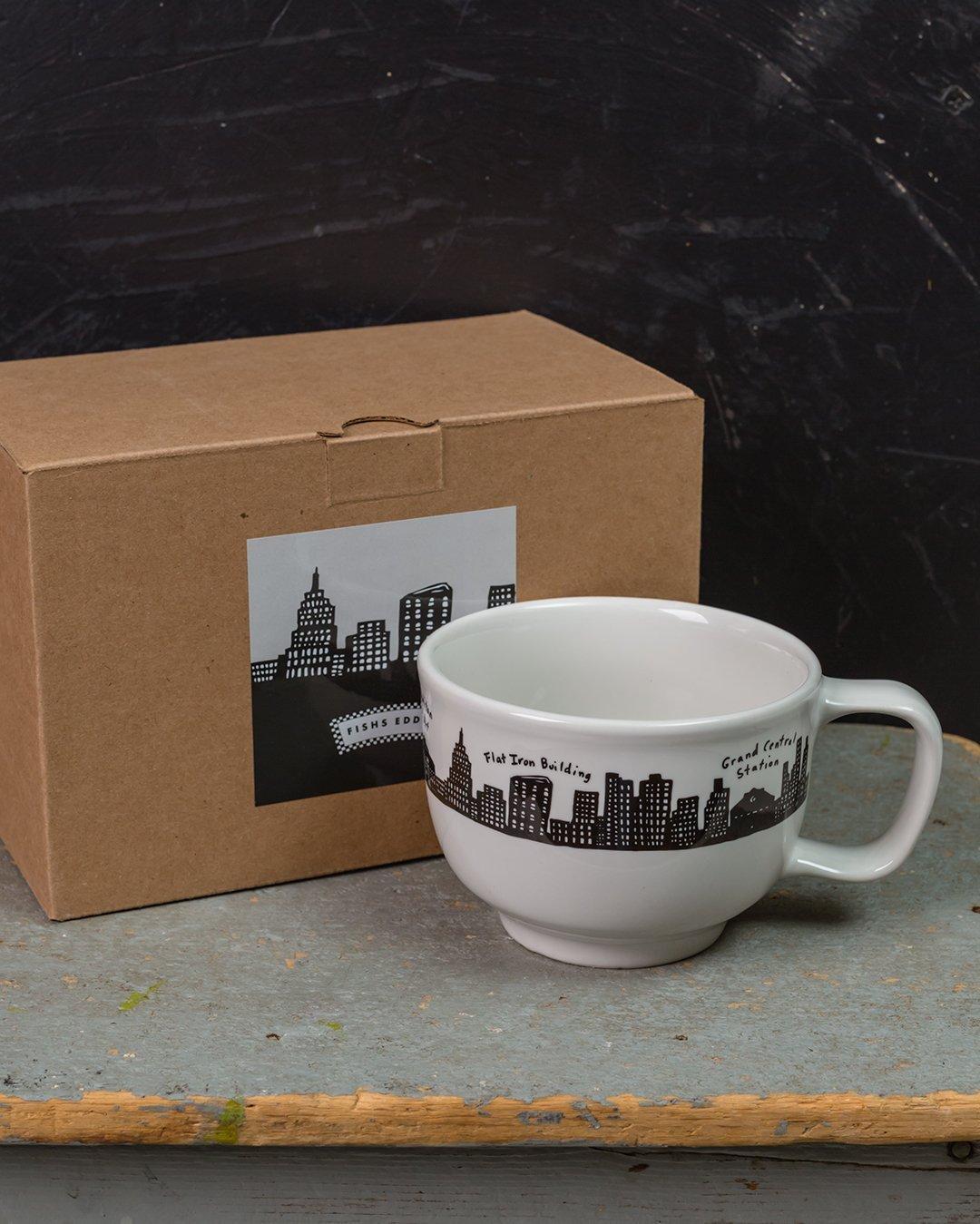 212 Skyline Jumbo Cup Gift Box Set of 2