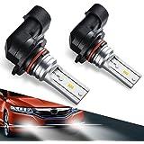 9140 H10 9145 Led Fog Light Bulb,Marsauto New Upgrade 9045 9040 Led Lamp High Power CSP-Y11, Cool Xenon white 5500-6500K (pack of 2)