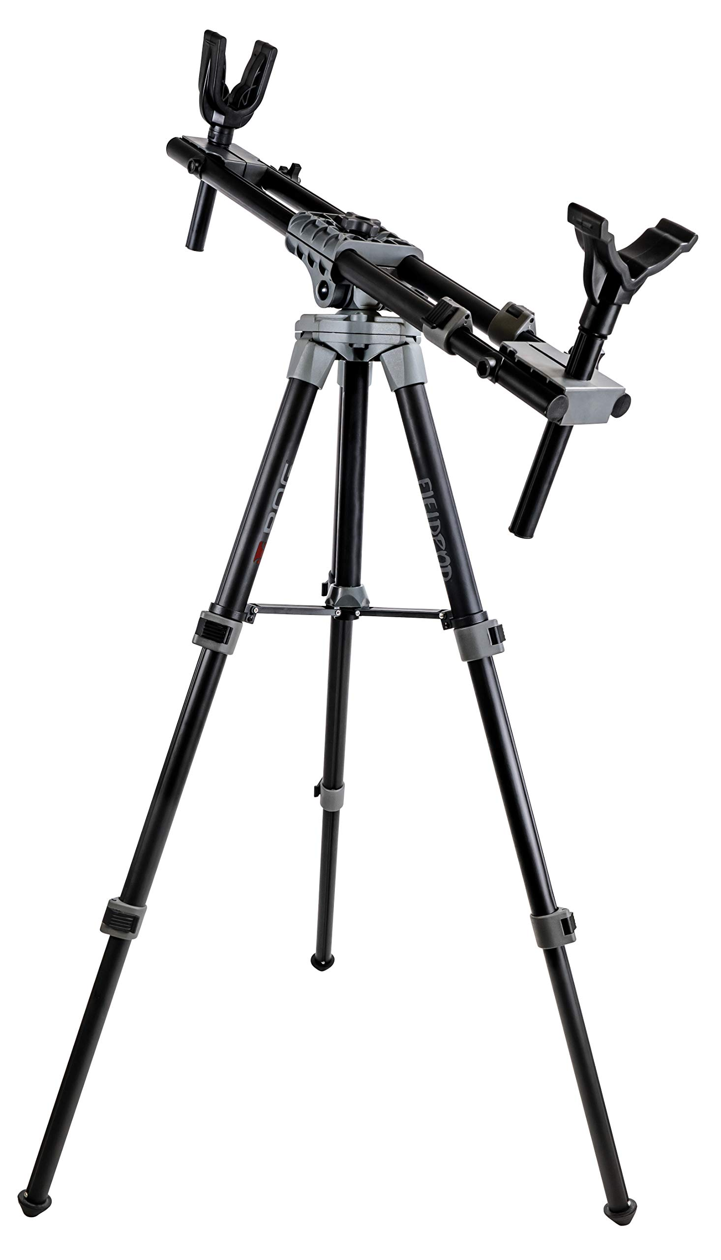 BOG FieldPod Adjustable Ambidextrous Rifle Shooting Rest for Outdoor Range and Hunting by BOG