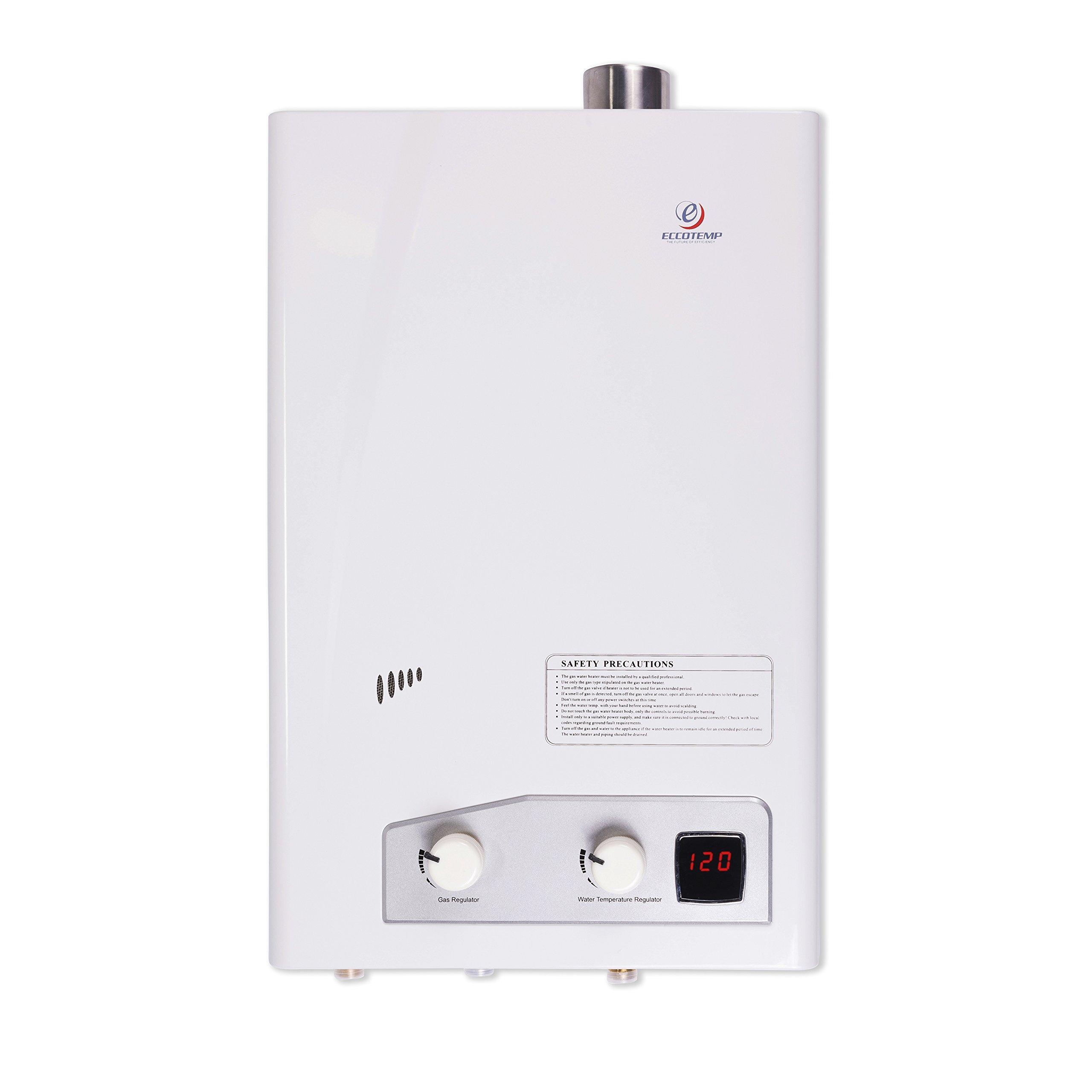 Eccotemp fvi12-NG FVI-12 Natural Gas, 3.5 GPM, High Capacity Tankless Water Heater, White by Eccotemp (Image #1)