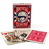 Bicycle Escape Map Poker Size Standard Index Playing Cards