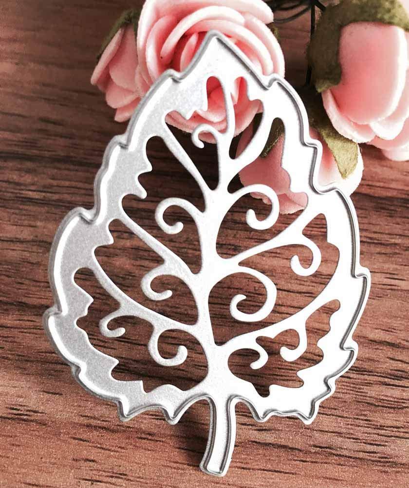 KIMODO Troqueles de corte, fondo de flor Metal DIY Scrapbooking Stencil, tarjeta de álbumes, repujado Craft Decor para el hogar: Amazon.es: Hogar