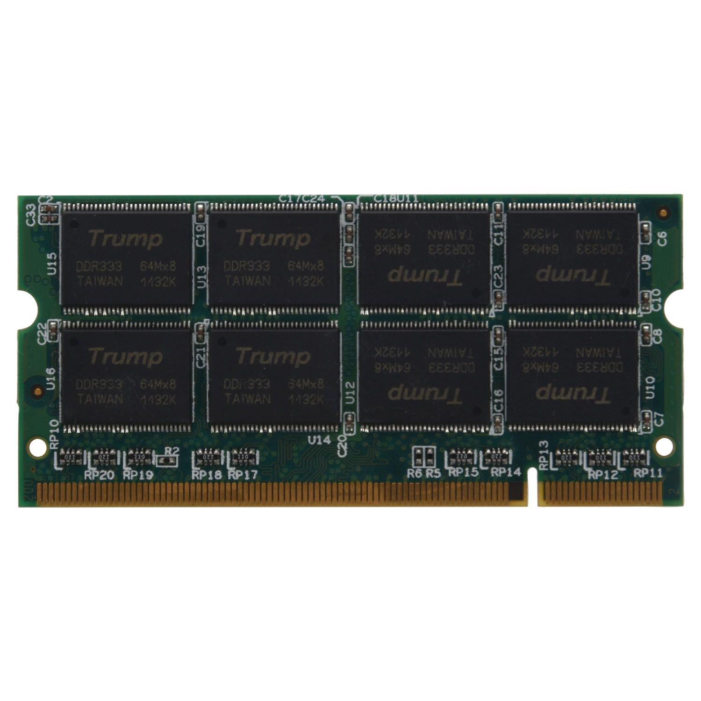 XZANTE 1GB 1G DDR RAM Memoria Ordenador portatil 333MHZ PC2700 Non-ECC PC DIMM 200 Pines: Amazon.es: Electrónica