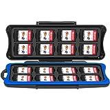 Nintendo Switch Custodia Case Giochi, Keten Switch Custodia per Cartucce Giochi Contenitore Conservazione SD Memory Card Custodia,32 Slot per 16 Pezzi Cartucce Giochi Switch e 16 Card Micro SD