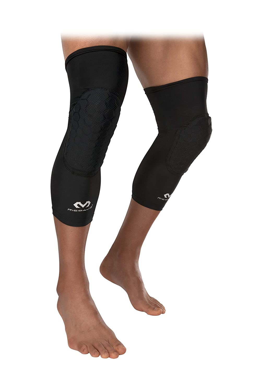 f9b8743ef4 Amazon.com : McDavid Teflx Padded Leg Sleeves and Compression, Pair :  Sports & Outdoors
