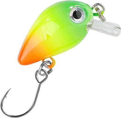 Forellenk/öder zum Spinnangeln Balzer Trout Crank 3cm 2g Wobbler zum Spinnfischen auf Forellen /& Barsche Forellenwobbler