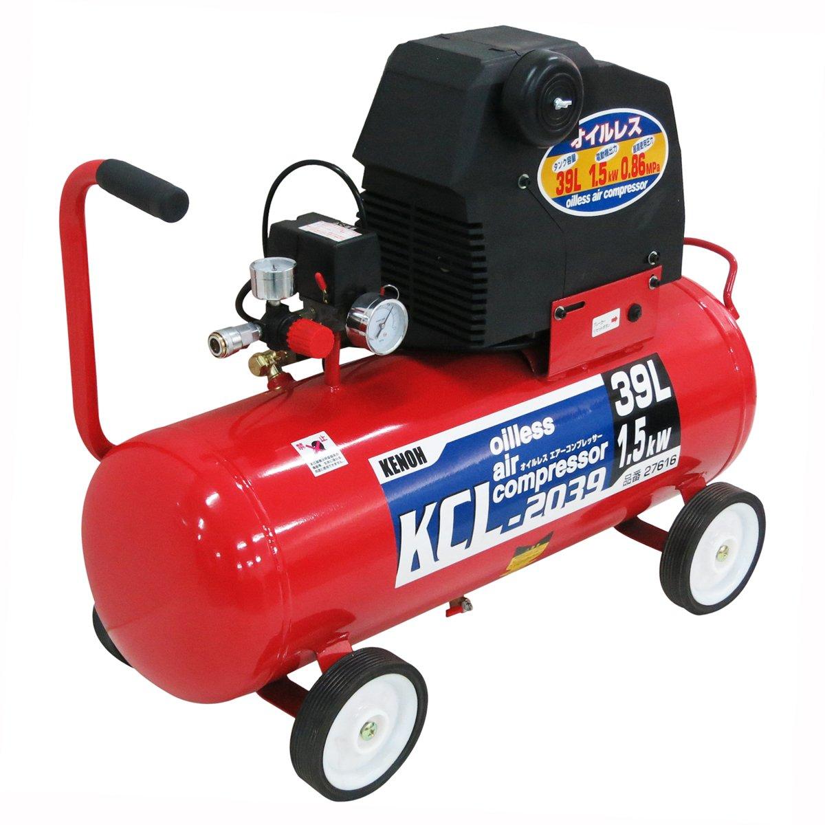 KNO オイルレスコンプレッサー KCL-2039 B013HYDTD0