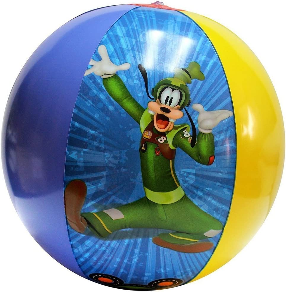 3 pcs Disney Mickey Mouse /& Friends Inflatable Beach Ball party favor
