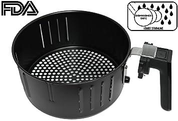 Aire de repuesto de la freidora cesta para freidoras de aire 3.5L de della, ...