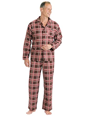 Men's Flannel Pajamas at Amazon Men's Clothing store: Pajama Sets