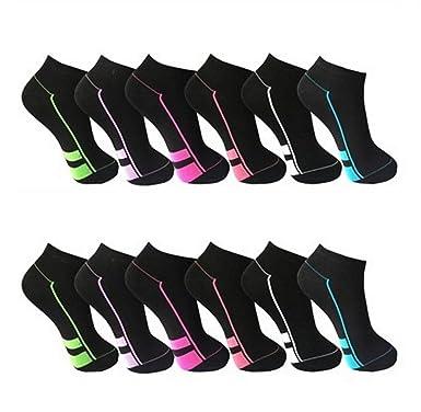 10 paires chaussettes Baskets FEMME de Pesail Taille 35–42 - Noir - Taille  unique 0d86f6374cd