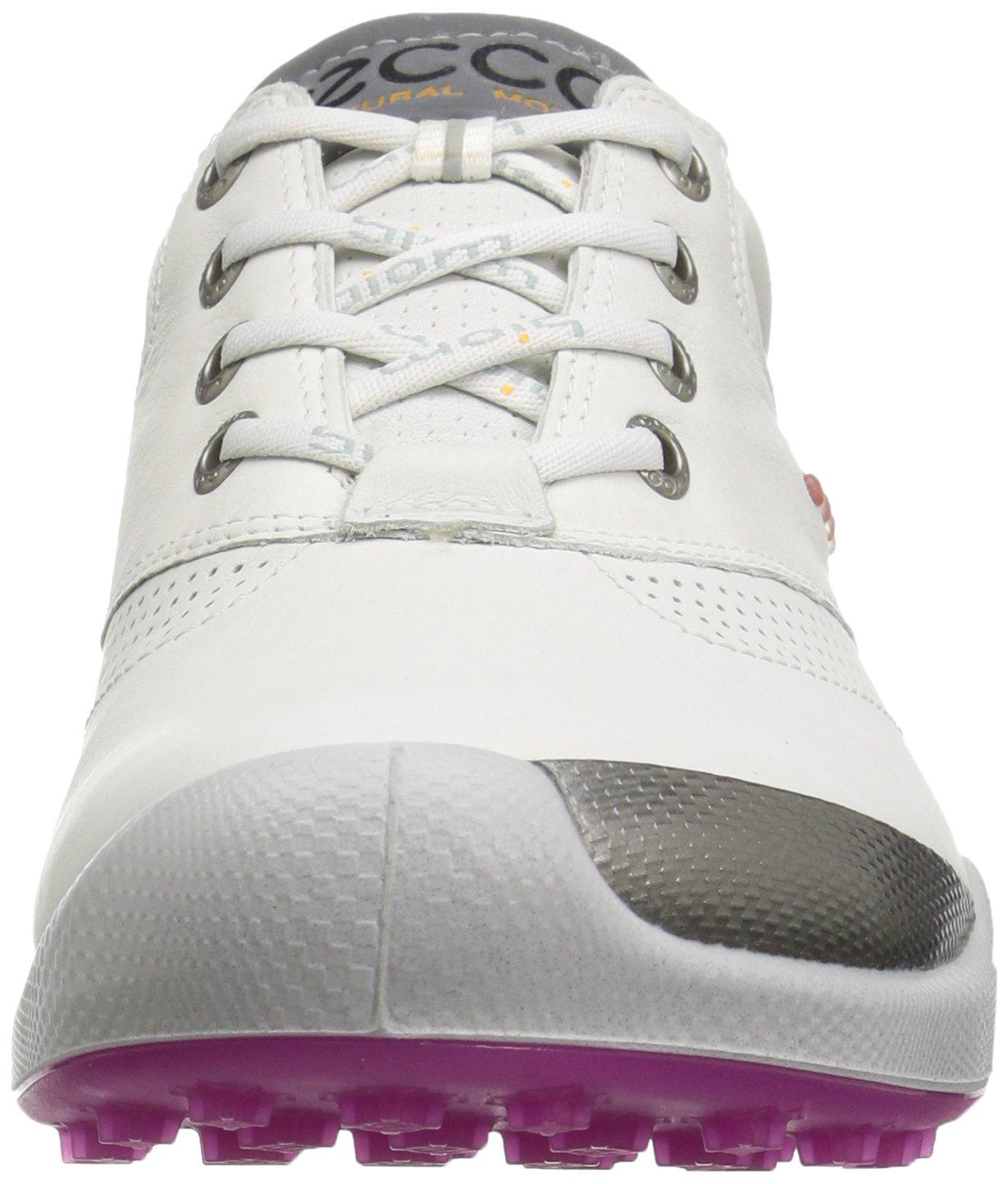 ECCO Women's Biom Hybrid Hydromax Golf Shoe, White/Candy, 39 EU/8-8.5 M US by ECCO (Image #4)