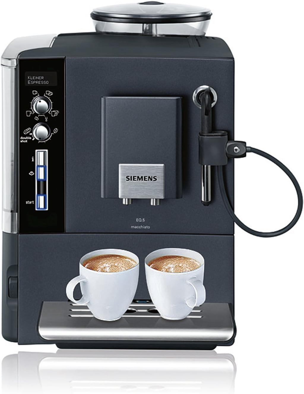 Siemens TE503509DE, Plata, 1600 W, 220 - Máquina de café: Amazon ...