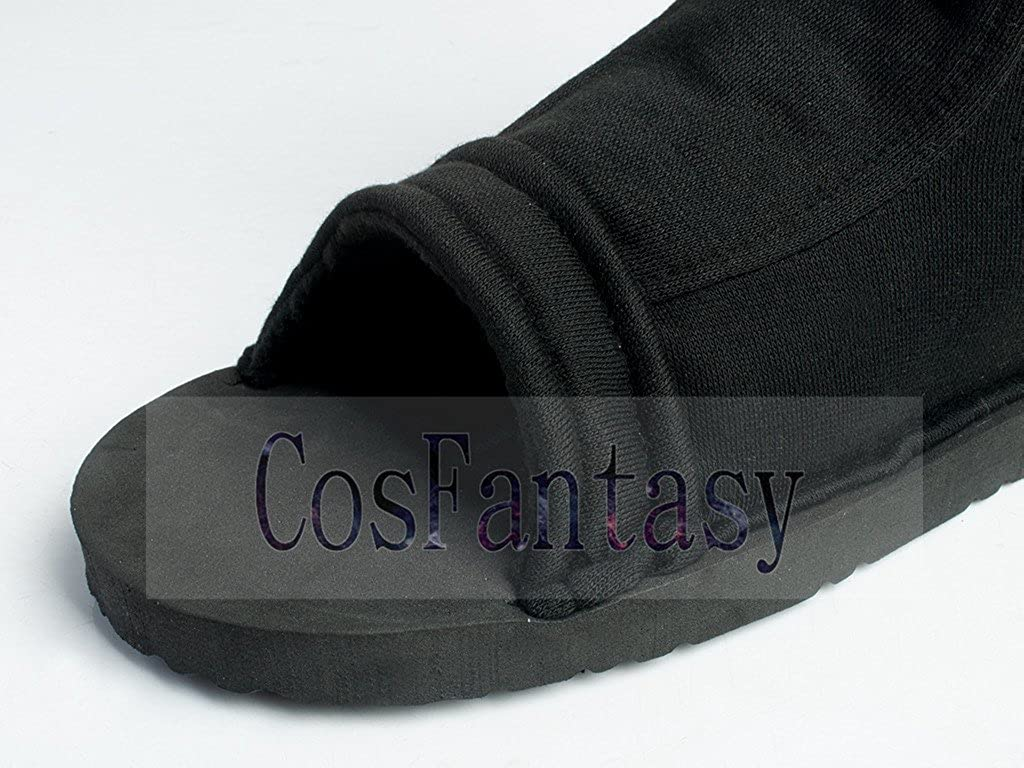 CosFantasy Japan Classic Anime Black Shippuden Ninja Shoes Cosplay mp000563