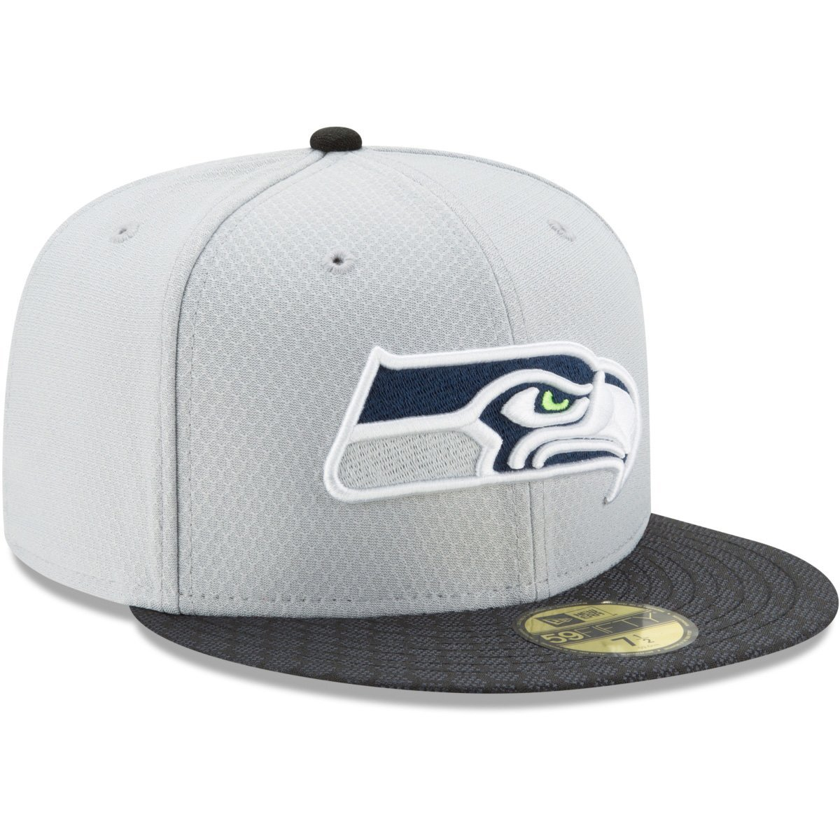 New Era Seattle Seahawks 2017 Sideline GRAPHITE NFL 59FIFTY Fitted ...
