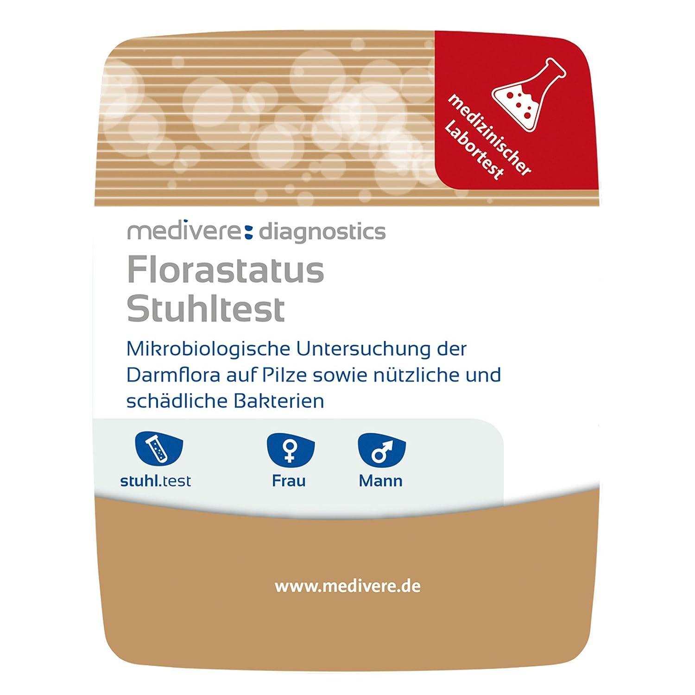 Medivere Florastatus Stuhltest Zur Darmflora Untersuchung Amazonde