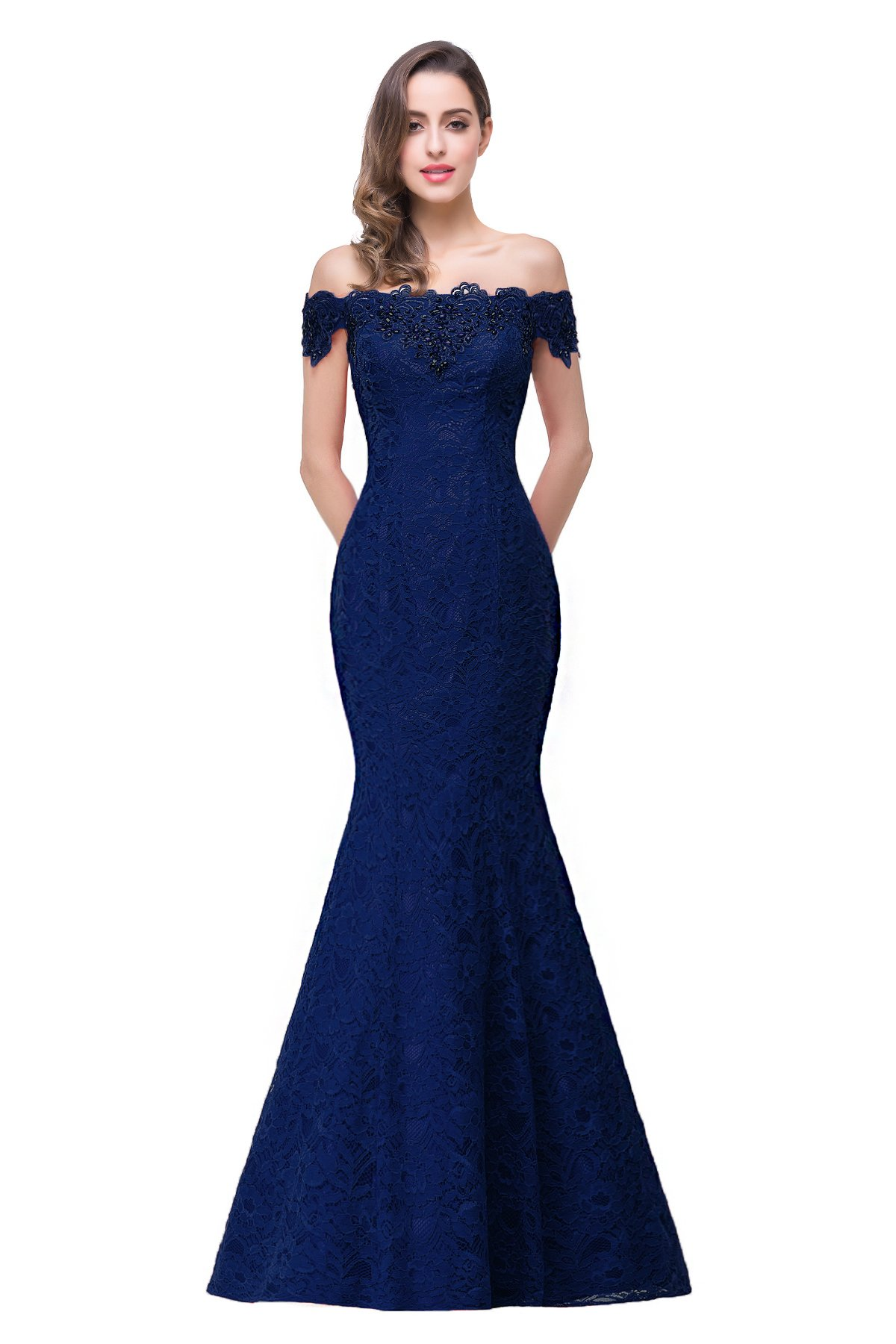 Navy Ball Gown: Amazon.com