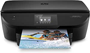 HP ENVY 5660 Wireless All-in-One Photo Printer with Mobile Printing, HP Instant Ink & Amazon Dash Replenishment ready (F8B04A) (Renewed)
