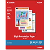 Canon 1033A011 High Resolution Letter Paper 100 Sheet 8.50 x 11 White Consumer electronics